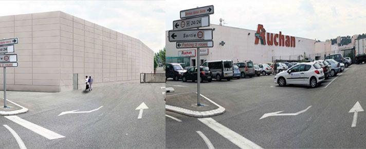 AUCHAN – Retail park – La Seyne sur Mer Extension