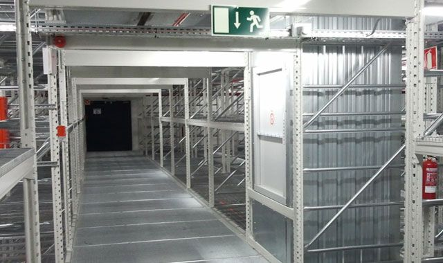 ARCHIVES STORAGE WAREHOUSE – Installation industrielle – Madrid and Bilbao