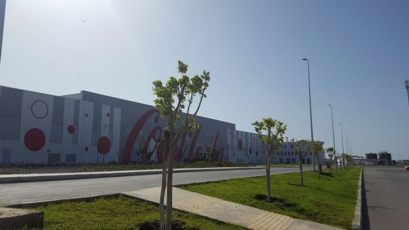 COCA COLA – Industrial warehouse – Tanger