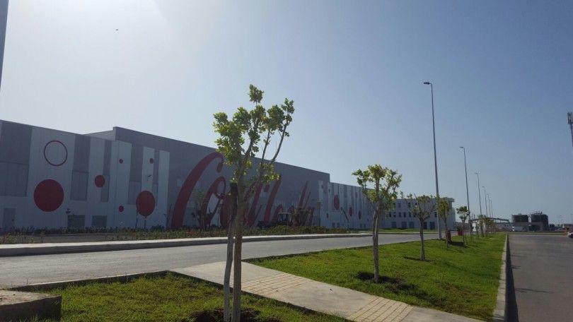 COCA COLA – Magatzem industrial – Tanger