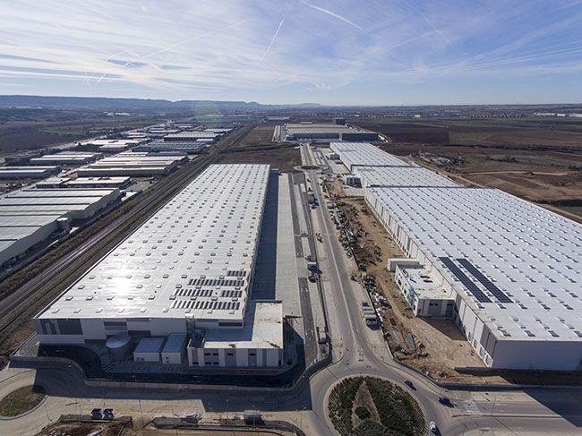 MERLIN PROPERTIES – Logistic platform – Cabanillas del Campo