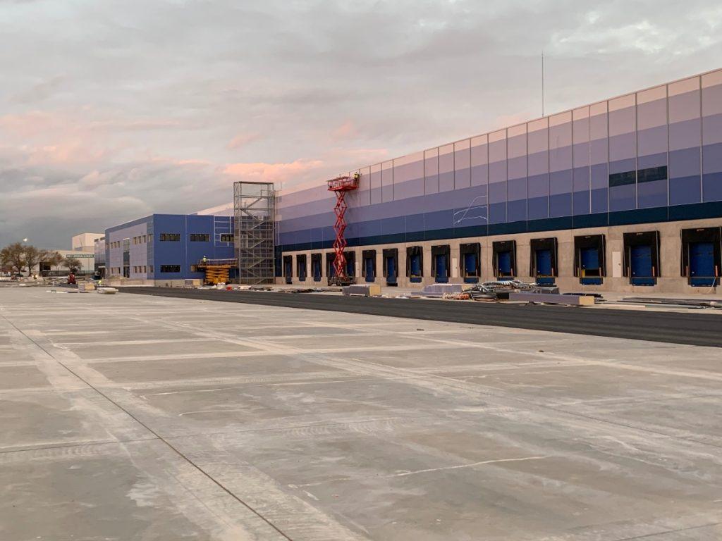 Almacen logístico Gazeley – Guadalajara